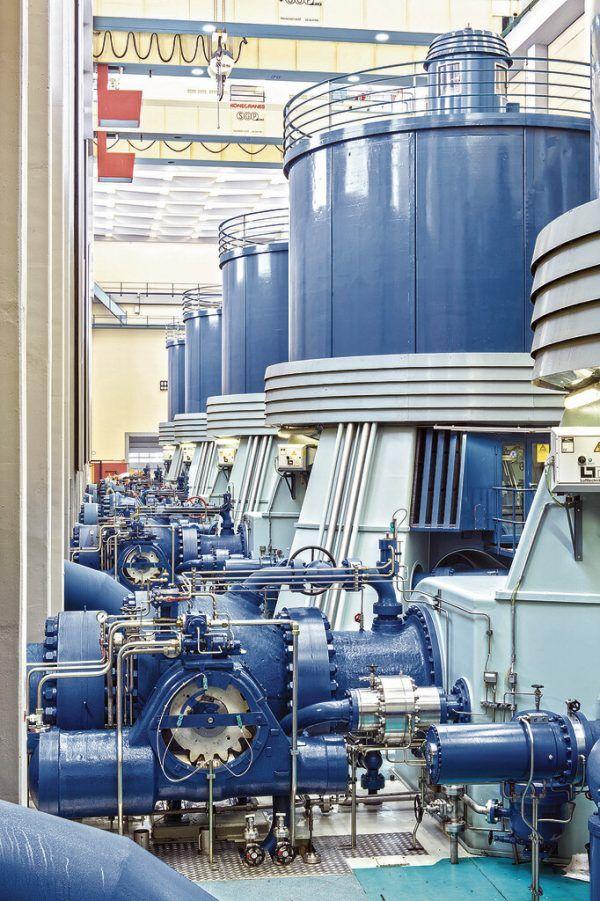 Das Lünerseewerk liefert derzeit maximal 280 Megawatt pro Stunde, ein zweites soll fast die vierfache Kapazität erhalten.SHutterstock/VKW