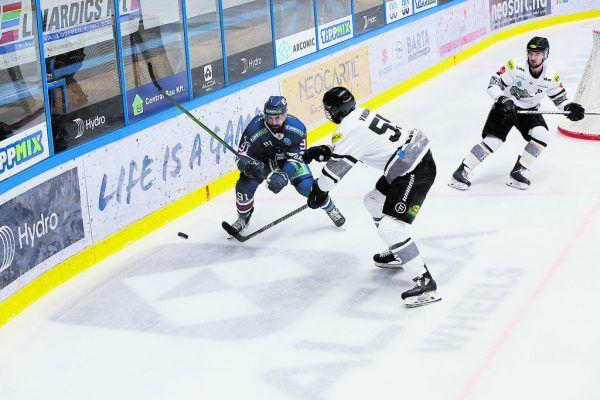 Die Dornbirner ließen Fehervar keinen Platz für gefürchtetes Offensivspiel, attackierten konsequent. ©Soós Attila