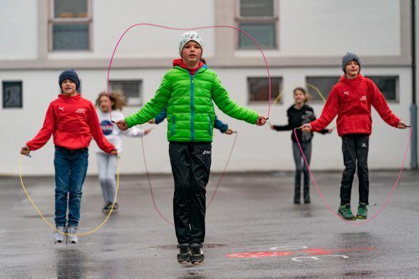 """Die """"Rope Skipping Challenge"""" kommt nun auch an die Volksschulen.stiplovsek"""