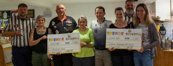 """Die Spenden der Sportschützen ergingen an """"Stunde des Herzens Vorarlberg"""" und """"Vorarlberger Herzenssache"""" für Kinder. hörl/VSGÖ"""