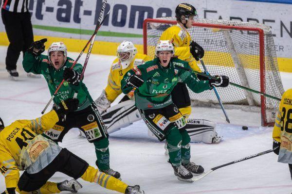Die Wälder konnten gestern sechs Tore und einen Heimsieg gegen die Vienna Silver Capitals bejubeln.Frederick Sams (1), Dietmar Stiplovsek (1)