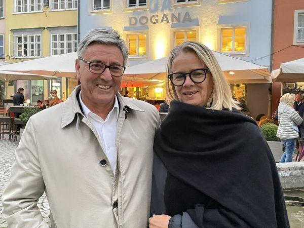 Feldkirchs Bürgermeister Wolfgang Matt mit Ingrid.