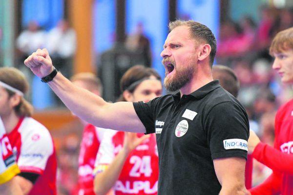 Hannes Jonsson will heute auch gegen seinen Ex-Verein über zwei Punkte jubeln. GEPA/Lerch