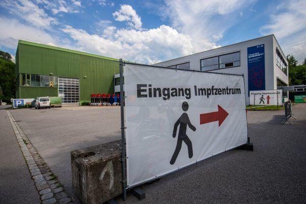 Impfzentrum in Bregenz öffnet die Pforten. hartinger