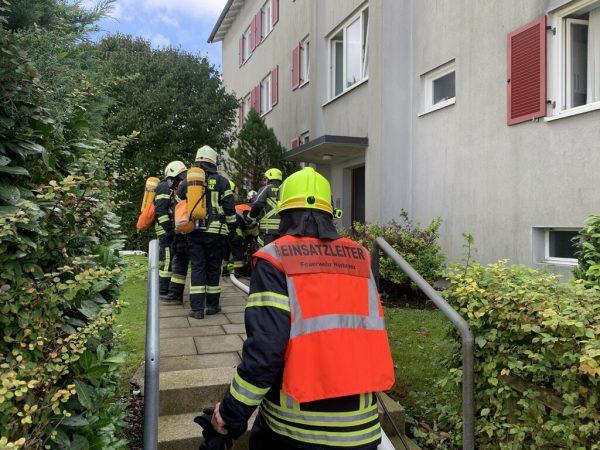 In Hörbranz gab es einen Feuerwehreinsatz in einem Mehrparteienhaus.VoL.AT/Vlach