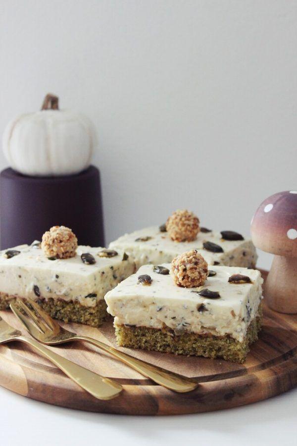Kürbiskerne schmecken auch in einem Kuchen gut.Jasmine Hörhager