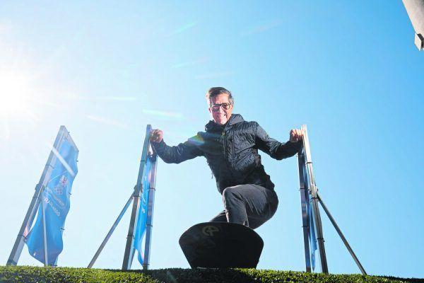 Speckle entwickelte 2016 die Idee einer Montafoner WM-Bewerbung und treibt seither die Pläne mit viel Herzblut voran.Klaus Hartinger