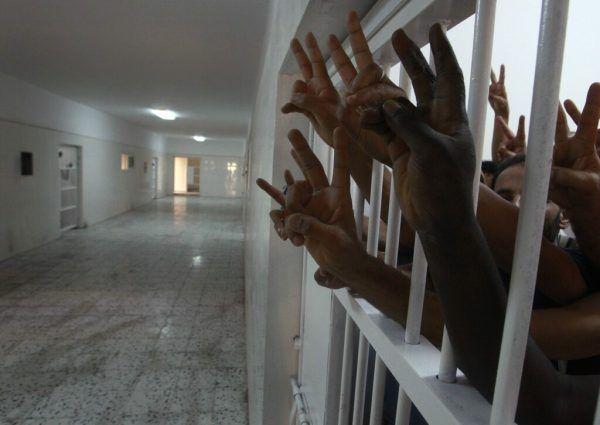 Verhaftete wurden unter anderem in Haftlager in der Hauptstadt Tripolis gebracht. Symbolbild Reuters