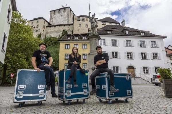 V.l.: Volker Sernetz, Lia Rädler und Stefan Sobotka-Grünewald.Roland Paulitsch